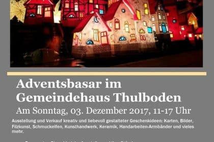 CURA Bewohnerbeirat organisiert Adventsbasar im evangelischen Gemeindehaus Heiligenhafen