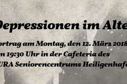 Vortrag: Depressionen im Alter