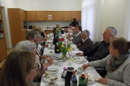 Neujahrsfrühstück 2018 mit dem Heimbeirat und dem Seniorenbeirat der Stadt Gladbeck