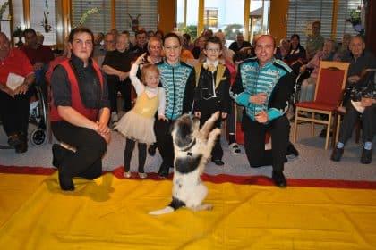 Zirkus Frankordi im Christinen-Stift