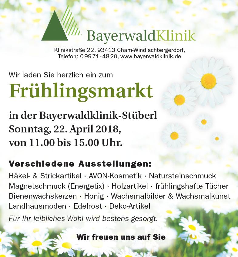 Frühlingsmarkt in der Bayerwald-Klinik