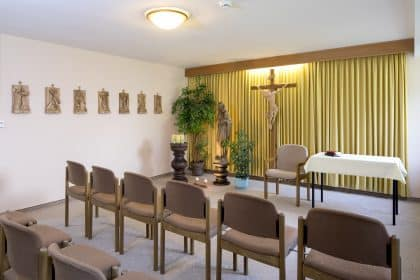 Gottesdienst in der Bayerwald-Klinik