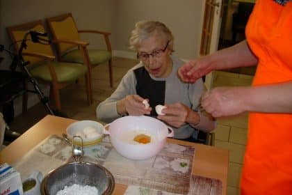 """Neues von der Koch- und Backgruppe in der Köke """"Klein Erna"""""""