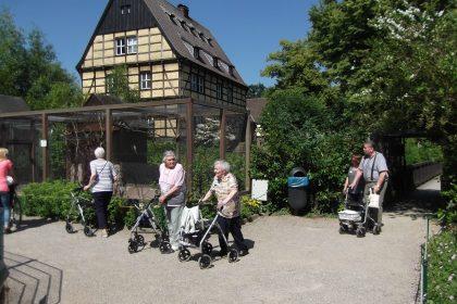 Mit unseren Bewohnern zum Wasserschloss Wittringen