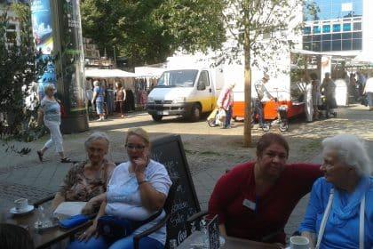 Besuch auf dem Wattenscheider Wochenmarkt