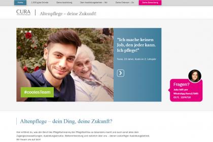 Ausbildung in der Altenpflege > neue Website