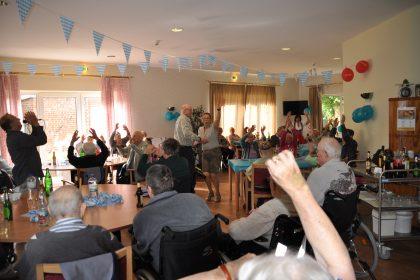 Volksfeststimmung nördlich des Weißwurstäquators
