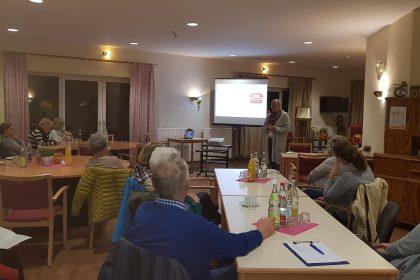 Erster Basiskurs Demenz im Cura Seniorencentrum Verden