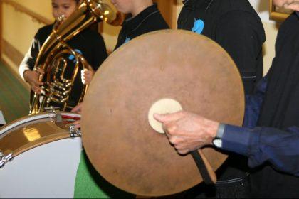 Pfannkuchen  mit Orchester