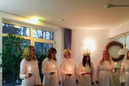 Weihnachtliche Melodien aus Schweden – Sancta Lucia aus Göteborg bei uns im Hause
