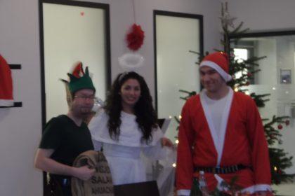 Weihnachtsfeier im Cura Seniorencentrum Bergedorf
