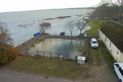 """Sturmtief Zeetje """"fegt"""" auch über die CURA in Heiligenhafen!"""