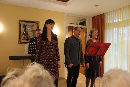 Der Opernchor zu Gast im Lutherbogen