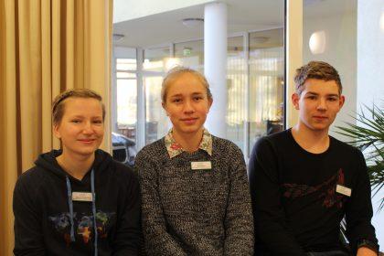 Die Schüler des Elisabeth Gymnasiums absolvieren ihr Sozialpraktikum im Cura Halle Lutherbogen