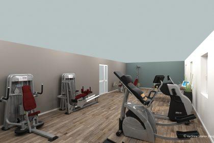 WIR RENOVIEREN: Trainingsmöglichkeiten für Kraft- und Muskelaufbau im Visier