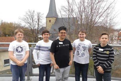 Jungen Zukunftstag 2019 im Cura Seniorencentrum Bad Sassendorf