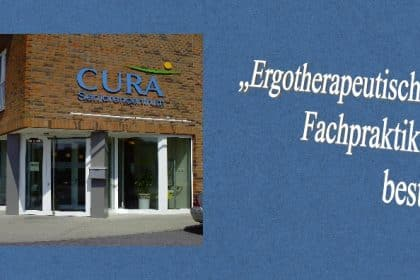 Ergotherapeutisches Fachpraktikum im CURA Seniorencentrum Heiligenhafen!