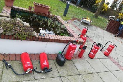 Sicher ist sicher – Brandschutzübung für unsere Mitarbeiter