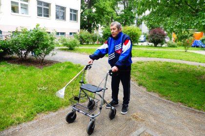 Subbotnik – Garteneinsatz im Maximilianstift