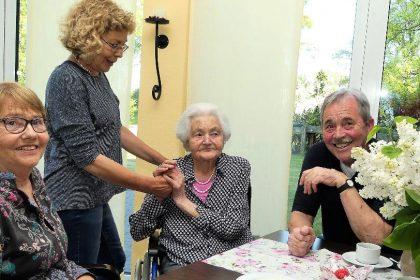 Älter als ein Jahrhundert – 101er Geburtstag im CURA Seniorencentrum Heiligenhafen!