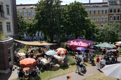 Eine große Überraschung auf dem Sommerfest im Angelika-Stift!