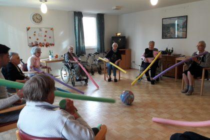 Aktiv im Cura Seniorencentrum Gladbeck