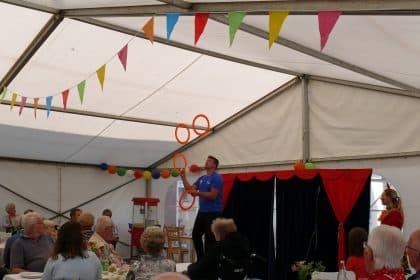 Circus, Shanty und Popcorn .. …. CURA Heiligenhafen feiert Sommerfest!