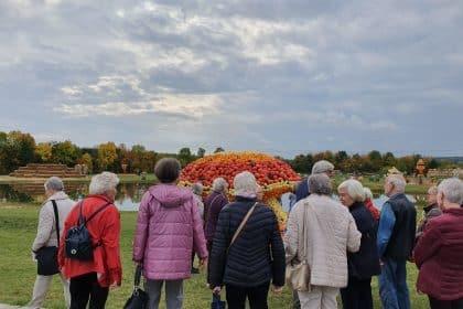 """Unsere Seniorenreise zum Kürbisparadies """"Krewelshof"""" und WDR Köln"""