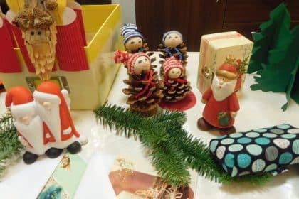 Sankt Nikolaustag beschert CURA Senioren mit kleinem Adventsbasar!