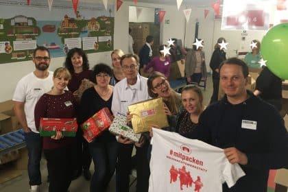"""""""Wiederholungstat"""" Weihnachten im Schuhkarton – Geschenke packen für Kinder in Not"""