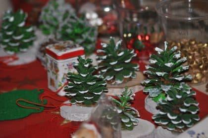 Weihnachtsbasar in der Passage im Dresdner Hof