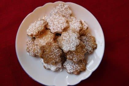 Kekse backen für unseren Weihnachtsbasar