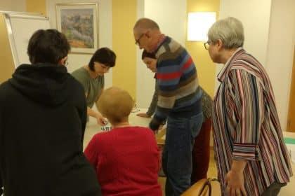 Beim Kneipp-Workshop kamen alle auf ihre Kosten.