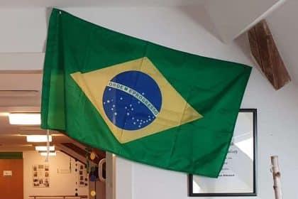 Karneval in Rio oder einfach Mottotag Brasilien