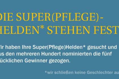 Unsere Super(Pflege)Helden* in 2020
