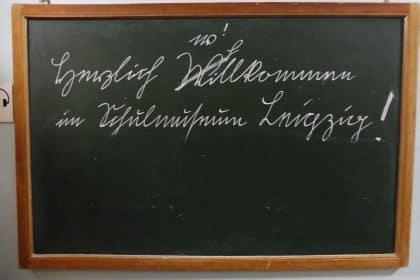 Von A Bis Z – ein Ausflug in das Leipziger Schulmuseum