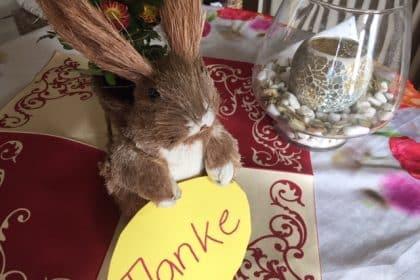 Liebe Ostergrüße & Dankeschön!