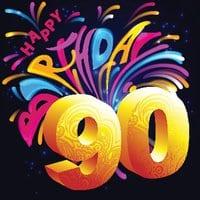 Der 90. Geburtstag – Herzlichen Glückwunsch