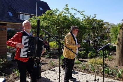 Schlager-Konzert im Garten