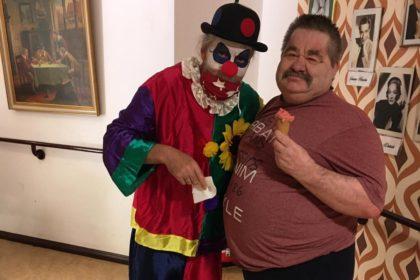 Ein eiskalter Clown
