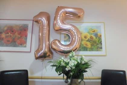 Überraschung und Chor-Konzert zum 15jährigen Jubiläum
