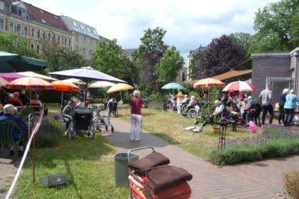 """""""Mini-Sommerfest"""" für unsere Bewohner/-innen"""