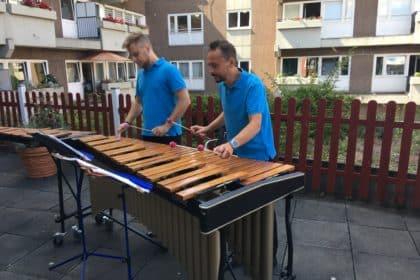 Balkonkonzert – Mallet Duo