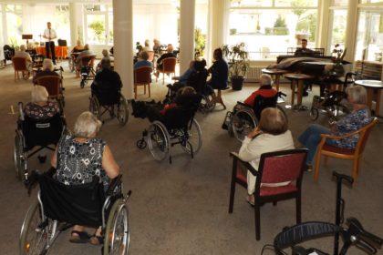 Wieder Gottesdienst im Maternus Seniorencentrum An den Salinen