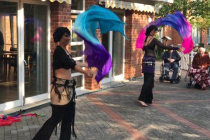 Tanzduo Sira zu Gast