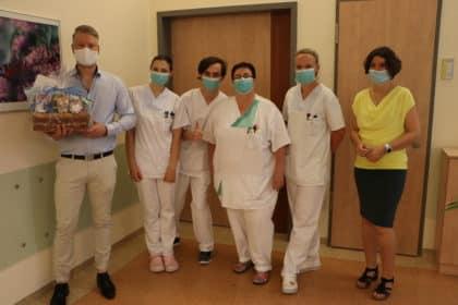 Ein großes Dankeschön für die tolle Kooperation mit dem St. Elisabeth-Krankenhaus Leipzig