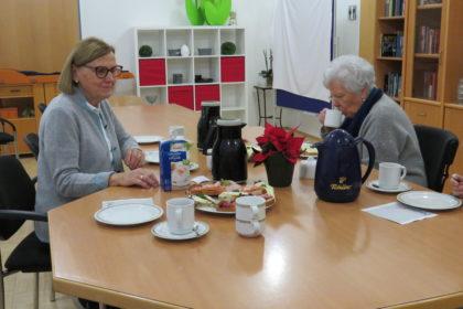 Ehrenamtlicher Besuchsdienst im Seniorencentrum Kolpingstraße