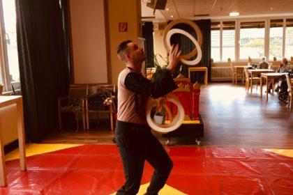 Besuch vom Zirkus Hansa