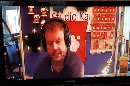"""Prominenter Besuch im """"Studio Kai"""" – Der Weihnachtsmann """"On-Air""""!"""