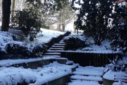 Wintereinbruch in Gelsenkirchen